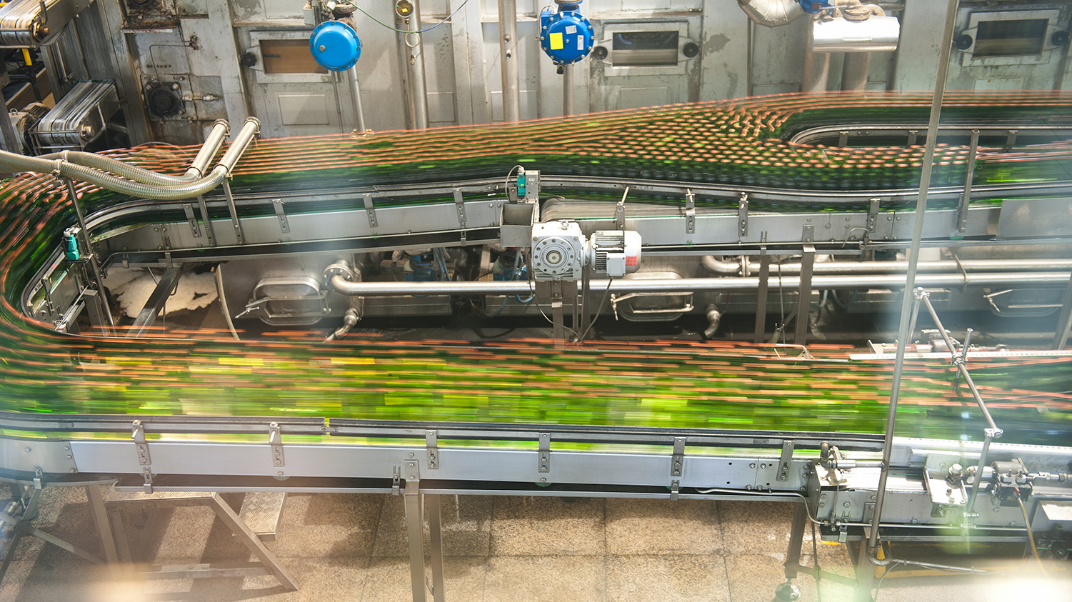 Advanced Real-time Monitoring RFID Technology Applied to High-Speed Can and Bottle Filling Lines